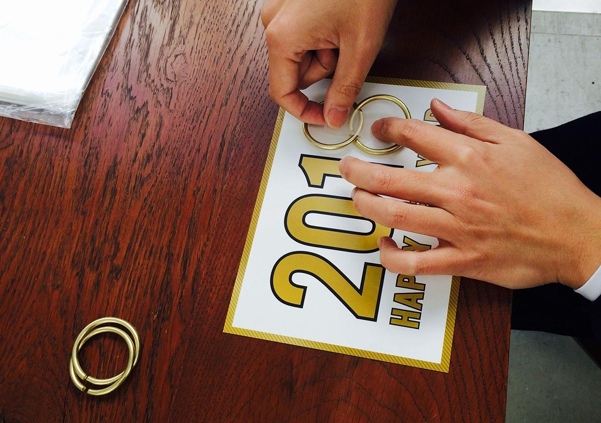 (写真26)   NECKTIE design office 千星健夫さんが作るクリエイティブな年賀状(中編) - 生田信一(ファーインク)   活版印刷研究所