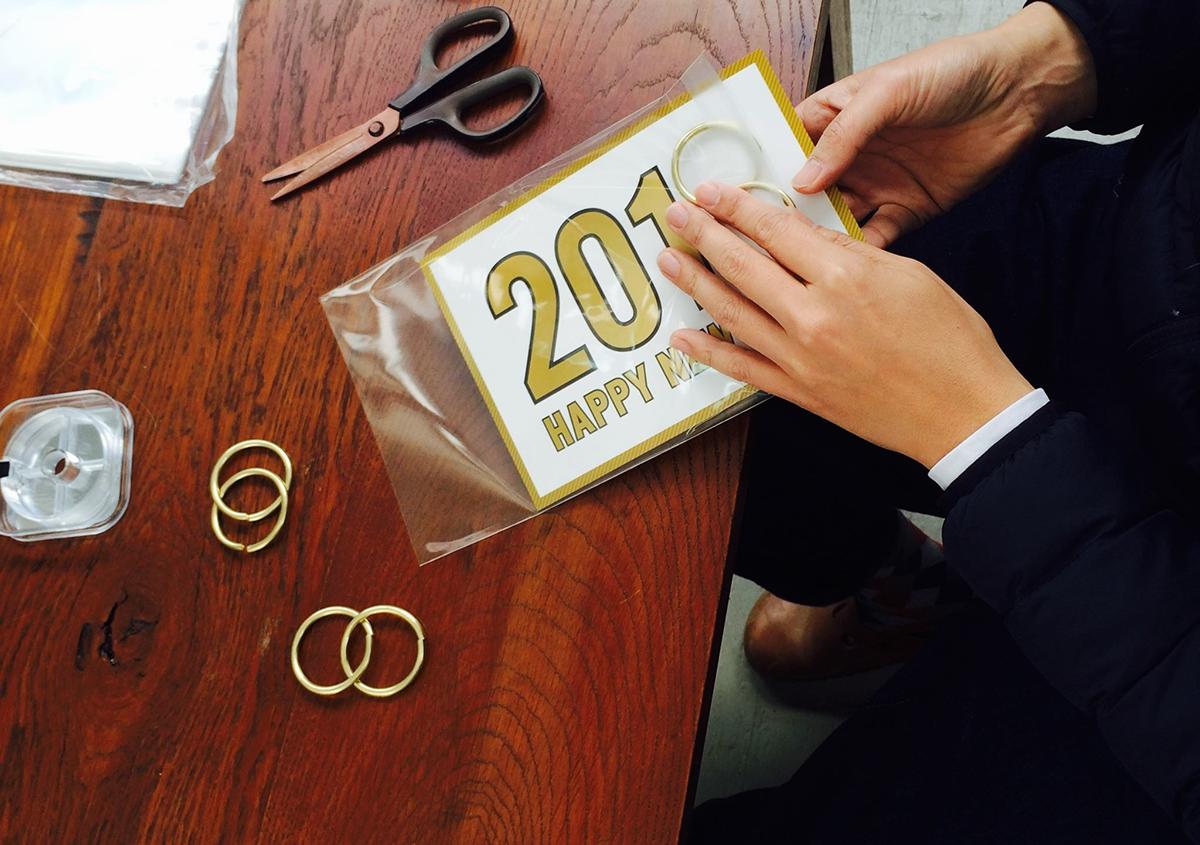 (写真29)   NECKTIE design office 千星健夫さんが作るクリエイティブな年賀状(中編) - 生田信一(ファーインク)   活版印刷研究所