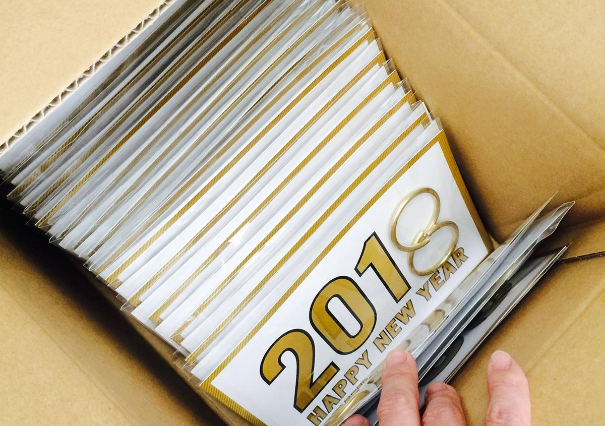 (写真30)   NECKTIE design office 千星健夫さんが作るクリエイティブな年賀状(中編) - 生田信一(ファーインク)   活版印刷研究所