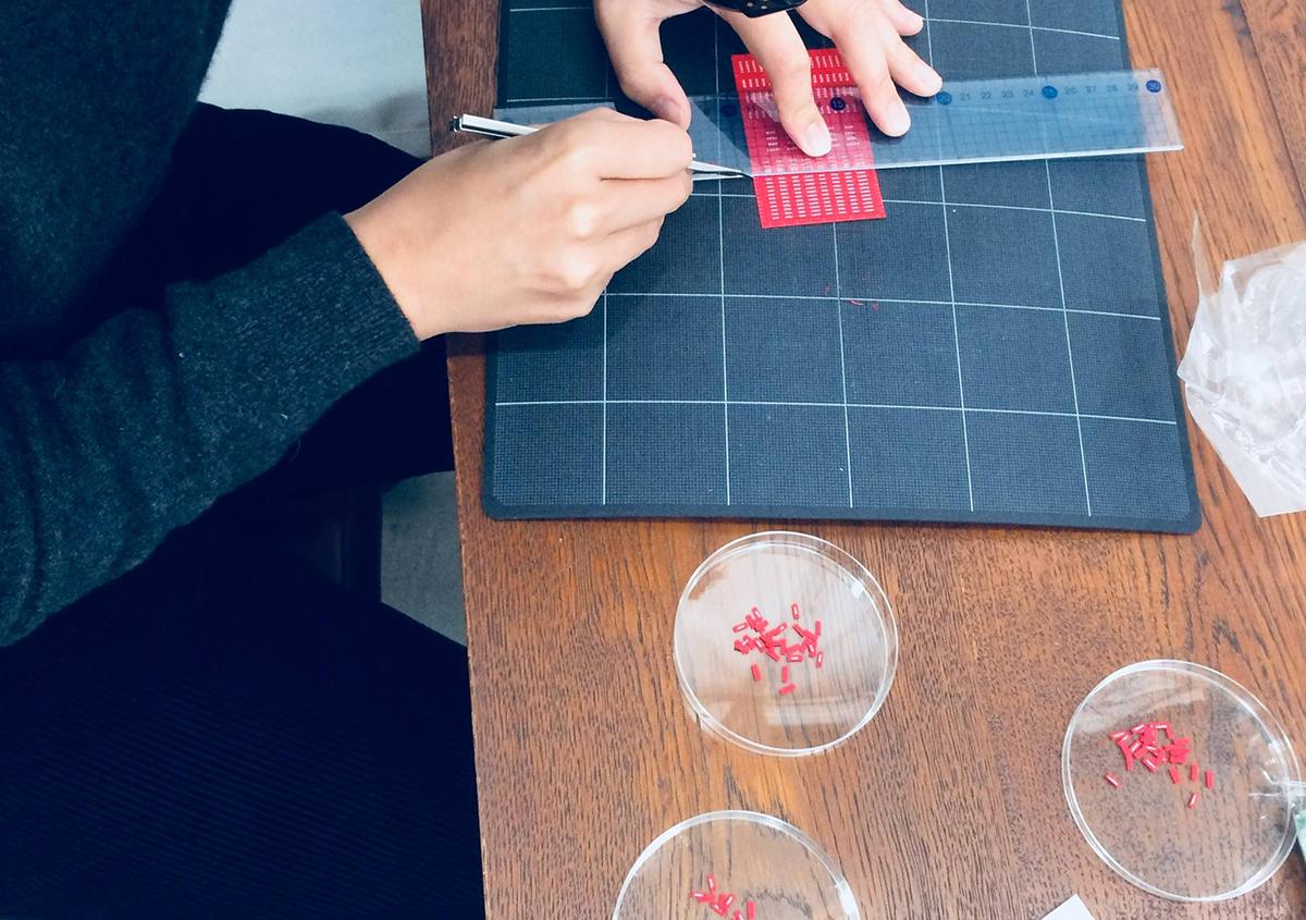 (写真36)   NECKTIE design office 千星健夫さんが作るクリエイティブな年賀状(中編) - 生田信一(ファーインク)   活版印刷研究所