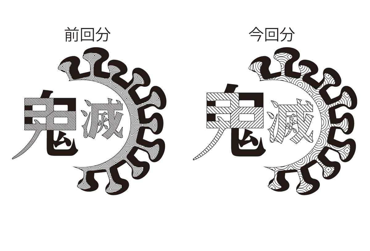 鬼滅ロゴ箔押し7 - (株)和光 | 活版印刷研究所
