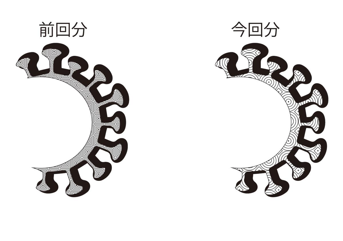 (写真3) | 鬼滅ロゴ箔押し7 - (株)和光 | 活版印刷研究所