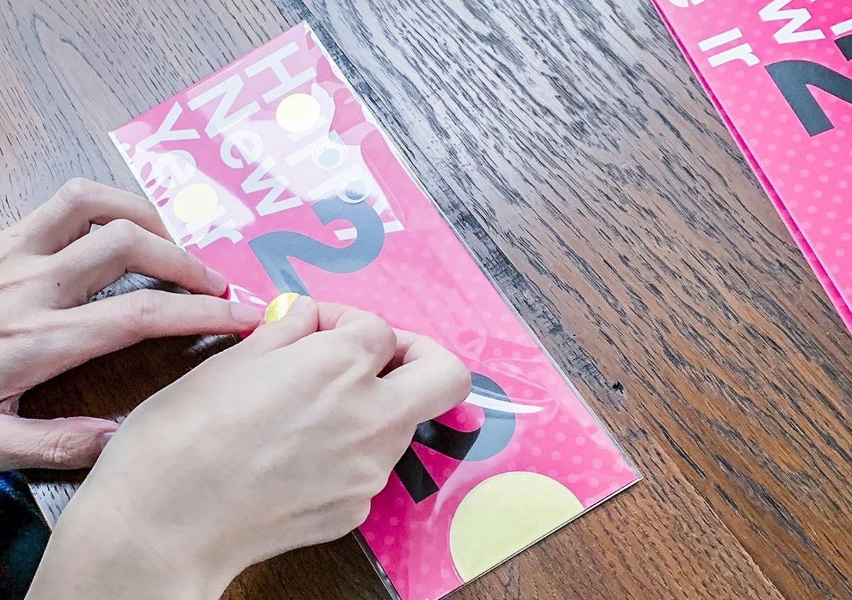 (写真12) | NECKTIE design office 千星健夫さんが作るクリエイティブな年賀状(後編) - 生田信一(ファーインク) | 活版印刷研究所