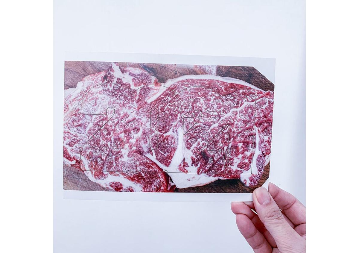 (写真22) | NECKTIE design office 千星健夫さんが作るクリエイティブな年賀状(後編) - 生田信一(ファーインク) | 活版印刷研究所