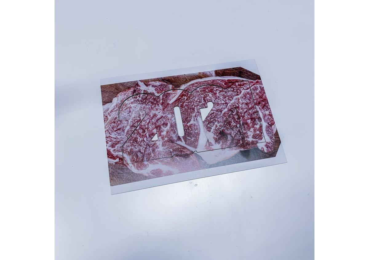 (写真27) | NECKTIE design office 千星健夫さんが作るクリエイティブな年賀状(後編) - 生田信一(ファーインク) | 活版印刷研究所