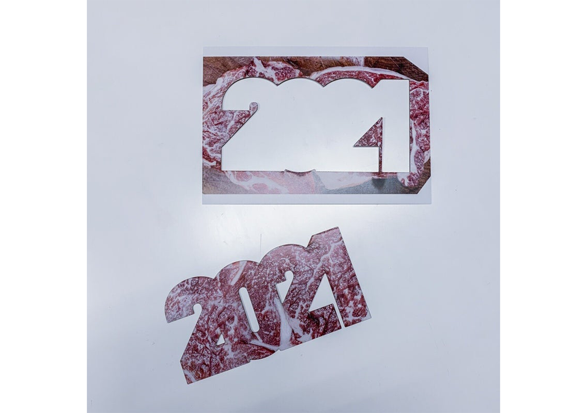 (写真28) | NECKTIE design office 千星健夫さんが作るクリエイティブな年賀状(後編) - 生田信一(ファーインク) | 活版印刷研究所