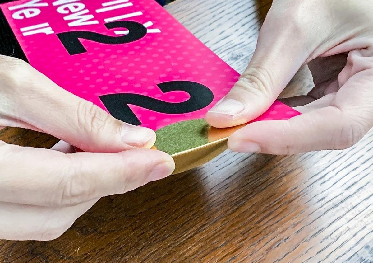 (写真6) | NECKTIE design office 千星健夫さんが作るクリエイティブな年賀状(後編) - 生田信一(ファーインク) | 活版印刷研究所