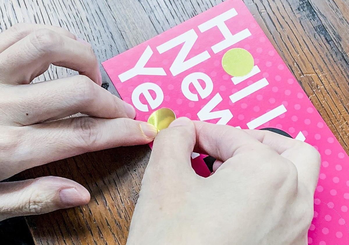 (写真8) | NECKTIE design office 千星健夫さんが作るクリエイティブな年賀状(後編) - 生田信一(ファーインク) | 活版印刷研究所