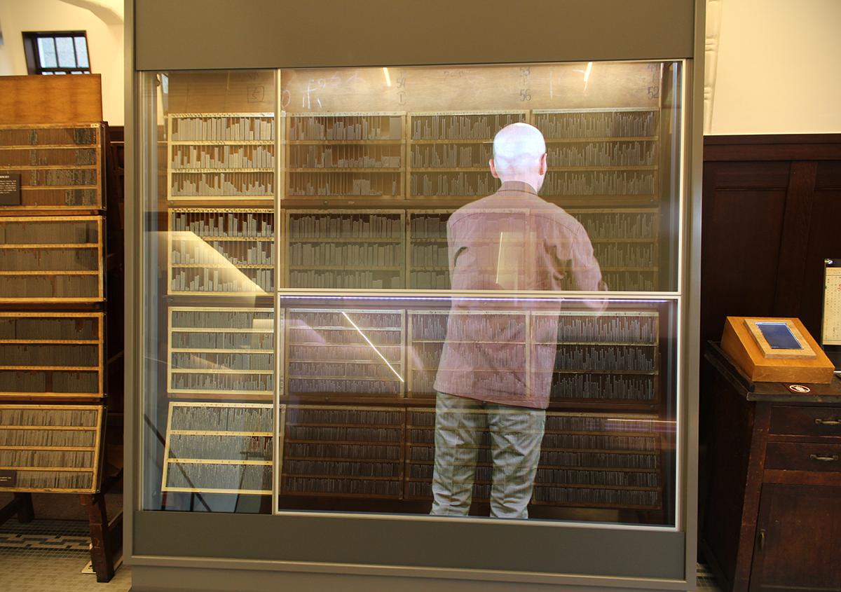 (写真2)   市谷の杜 本と活字館に行ってきました(第2回) - 生田信一(ファーインク)   活版印刷研究所
